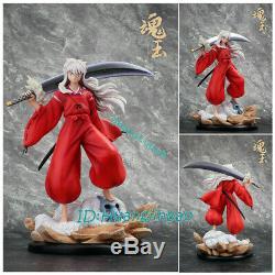 Inuyasha Resin Figure HunYu Studio Pre-order 27''H Painted Model Figure Anime GK