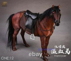JXK 1/12 Scale Germany Hannover Horse Hanoverian Model Figure Resin With Harness