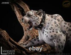 JxK 1/6 Snow Leopard Panther Figure Animal Decor Model Collector GK Pre-order