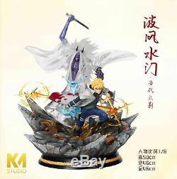 KM Studio Naruto Namikaze Minato sikifuujin Resin Figure Model Painted Statue
