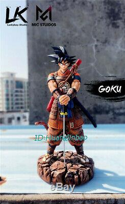 LK Studio Dragon Ball Son Goku Resin Figure Samurai Suit Model Painted Pre-order
