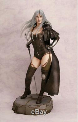Luz Malefic Fantasy Girl New 2013 Luis Royo 1/4 Unpainted Figure Model Resin Kit
