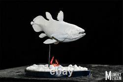 MM 1/15 Coelacanth Statue Latimeria chalumnae Animal Fish Model Collector GK Toy