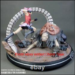 MRC VKH Studio Naruto Sakura VS Sasori Figure Model Resin Shitachi GK in stock