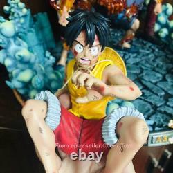 MRC &YUME Studio One Piece Figure Monkey D Luffy PortgasD Ace Sakazuki Model