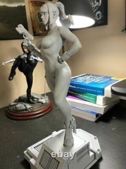 Metroid Samus Aran Zero Suit 17 Inch Tall 3D Printed Model Figure Toy Garage Kit