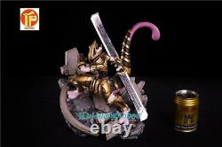 Mewtwo Cosplay Thanos Painted Model Resin Figure 30cmH Collection Statue
