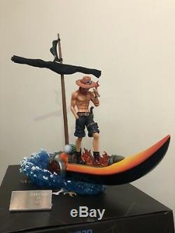 Mobius One Piece PortgasD Ace Sculpture Figure Model Resin Statue