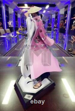 Model Palace Bleach Kyoraku Shunsui 32cm Resin Painted Model Figure New In Stock