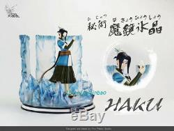 Naruto Haku ice-strom Figure Model Painted Resin Sculpture 1/5 Scale In Stock