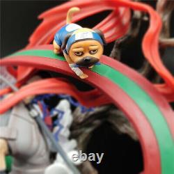 Naruto Hatake Kakashi Sharingan Action Figure Gk Model Statue Eight Ren Dog 39cm