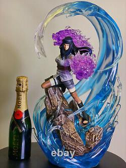 Naruto Hyga Hinata 1/7 Resin Figure With Led Light Statue Painted Model NEW