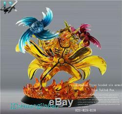 Naruto LX-Studios Kurama kyuubi Susanoo Resin Figure Model Pre-order Led Light
