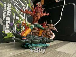Naruto Might Guy Resin Figure Model Painted Statue Dragon Studio Led Light 1/7