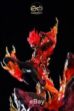 Naruto Might Guy Resin Figure Singularity Workshop 1/7 Model Painted InStock Led