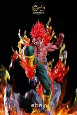 Naruto Might Guy Resin Figure Singularity Workshop 1/7 Model Painted With Led