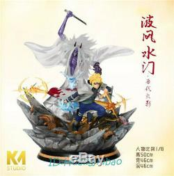 Naruto Namikaze Minato sikifuujin Resin Figure Model Painted Statue KM Studio GK