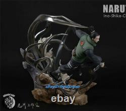 Naruto Nara Shikamaru Resin Figure Model Painted BoarDeerButterfly In Stock