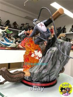 Naruto Sarutobi Hiruzen Model Statue Painted Figure In Stock Anime KM Studio GK