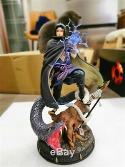 Naruto Uchiha Sasuke 1/7 Scale Figure Resin Model Painted Led Light In Stock GK