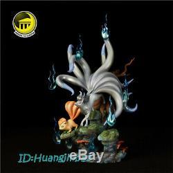 Ninetales Family Resin Figure Model Painted Statue Pre-order Moon Shadow Anime