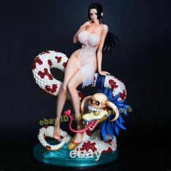 One Piece Boa Hancock Resin Model Painted Statue Cast off Figure IN STOCK
