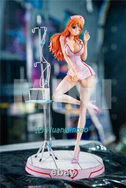 One Piece Nami Resin Model In Nurse Uniform Sexy Figure Painted MINI Studio GK