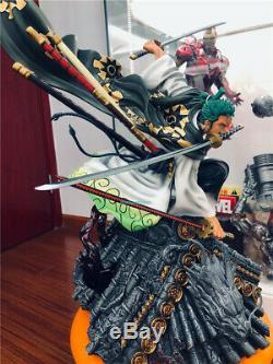 One Piece Roronoa Zoro Wano country Land of Wano Figure GT Studio Replica Statue
