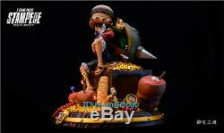 One Piece STAMPEDE Monkey D Luffy Statue Painted Resin Figure Model In Stock GK