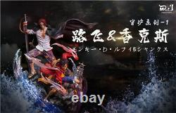 One Piece Shanks & Luffy Statue Resin Figure Model GK MR. J Studios Presale