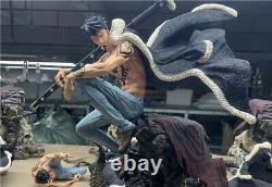 One Piece Trafalgar Law Statue Resin Figure GK Model Black Wing Studio New