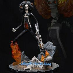 PJMQ One Piece BROOK Resin Figure Model Painted Statue In Stock Ghost Rider Hot