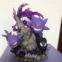 PPAP Studio Gengar Statue Figure Pokémon Model GK Resin 30cm