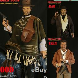 REDMAN TOYS 1/6 West Cowboy The Good the Bad and the Ugly Action Figure Model
