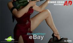Resident Evil Ada Wong Resin Figure Model Painted Statue Green Leaf GK Pre-order