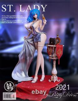 Ryu Studio ST lady Party dress 1/6 Resin Figure Model Painted Statue Cast off