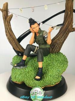 STR Nara Shikamaru Resin Figure Naruto Model Kits Statue GK Figurine New