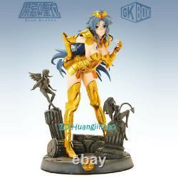 Saint Seiya Female Gemini Sexy Girl Resin Figure Model Cast Off Anime Statue GK