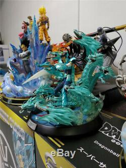 Saint Seiya Shiryu Rozan Hyakuryuha Resin Figure Model 344238cm 1/6 In Stock