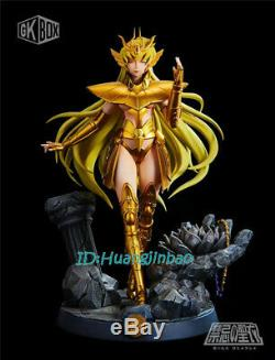 Saint Siya Virgo Shaka Resin Figure Female Gold Saint Model Painted Statue GKBOX