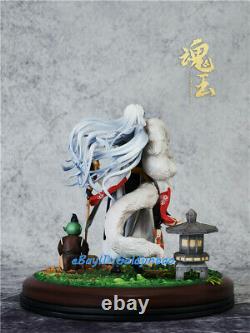 Sesshoumaru Figure Painted Resin Model 27cmH RIN Jaken Statue Pre-order