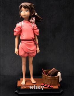 Spirited Away Ogino Chihiro Statue Resin Figure Model GK Collections
