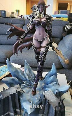 Sylvanas Windrunner 1/5 Resin Statue Resin Cast Off Painted Model H 50cm