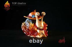 TOP studio Portgas D Ace Statue Resin Figure Statue Model GK One Piece Presale