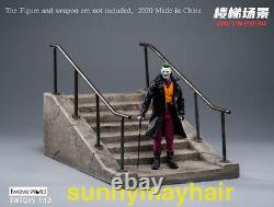TWTOYS 1/12 TW2034 Cement Stairs Platform & Background Model Fit 6'' Figure Doll