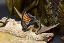 Tapejara Rob Allosaurus Scene Pterosaur Dinosaur Model Figure Collector Decor