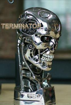 Terminator Salvation T800 1/1 LifeSize Skull Model Figure Statue Toy Collectible