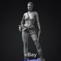 Tomb Raider Jolie Laura 1/6 Figure Statue Resin Model Kits Unpainted 3D Printing