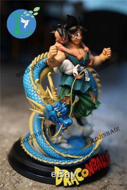 Ubu Son Goku Resin Statue Anime Dragon Ball 40cm/16''H Figure Lu Studio GK Model
