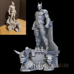 Unpainted 30cm H Batman Resin 3D Print Model Figure Model Kit Unassembled GK